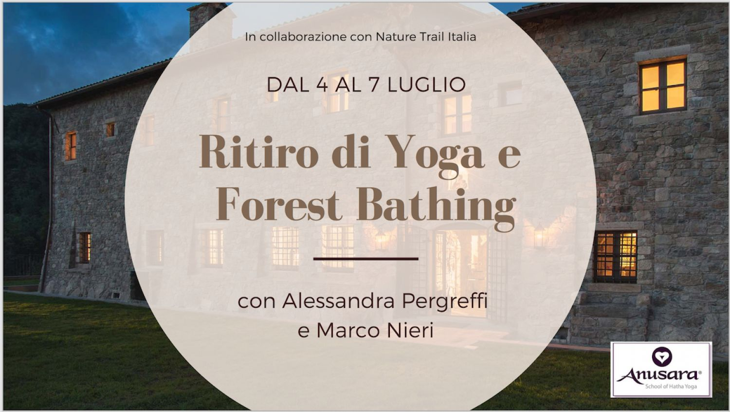 YOGA E FOREST BATHING 2019
